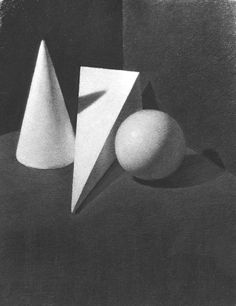 Geometric Shapes by Heather Rison, Charcoal