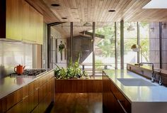 Jessica Helgerson Interior Design was responsible for a complete interior overhaul of a mid-century home located in Portland, Oregon.  #HouseRemodeling