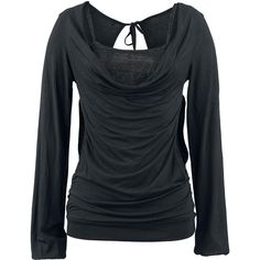 Open Double Layer Longsleeve - Black Premium by EMP- 34,99e Koko: XL