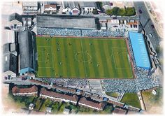 Goldstone Ground in Hove, former home of Brighton & Hove Albion FC before they moved to Falmer in Brighton