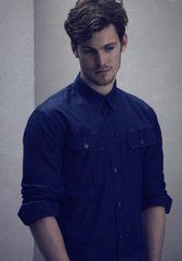 Imgs For > Lasse Hansen Abercrombie Beautiful Men, Beautiful People, Denim Button Up, Button Up Shirts, Sugar Daddy Dating, Sugar Baby, Rich Man, Sexy Men, Handsome