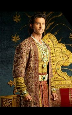 Thanks Bollywood For Giving Us Iconic Mughal Outfits That Are Ideal For Millennial Brides & Grooms Groom Wear, Groom Outfit, Jodhaa Akbar, Iconic Dresses, Wedding Venue Inspiration, Bollywood Actors, Bollywood Celebrities, Indian Movies, Bridal Fashion Week