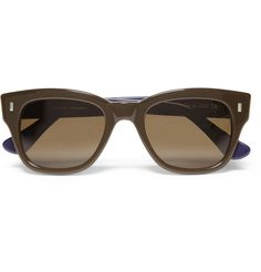Cutler and Gross Two-Tone D-Frame Acetate Sunglasses | MR PORTER
