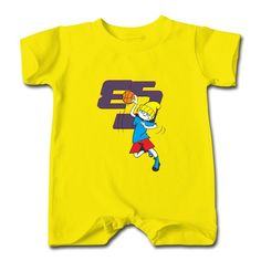 M m baby body suit yellow m m infant romper m m baby for Toddler custom t shirts no minimum