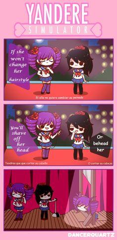 Yandere Comic - Task Kizana by DancerQuartz