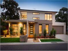 Architecture & Engineering *** Simply elegant modern residential house ᴷᴬ_n.png (704×528)