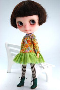 IT'S ME ENID!!!!!!!!!DRESS for Blythe by Miema Dollhouse by miema4dolls on Etsy, $19.00