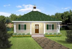 Cottage   Country   Vacation   House Plan 64555 ( Needs stairs to basement, and two bedrooms in basement with half bath.