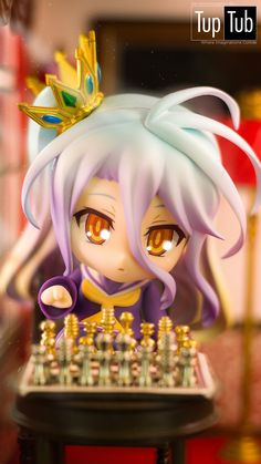 """This game"" Nendoroid Shiro. No Game No Life"