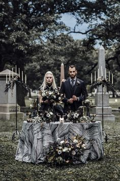 Chicago Halloween wedding inspiration in Rosehill Cemetery from Ashley Nicole Events. Features a Union of Souls ceremony, handfasting & Wiccan wedding ideas Wiccan Wedding, Viking Wedding, Gothic Wedding, Dream Wedding, Halloween Kostüm, Spirit Halloween, Black Wedding Dresses, Wedding Shoes, Handfasting