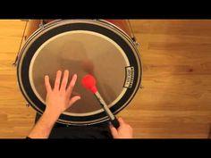 Surdo 1 - Samba Reggae - Basic Pattern