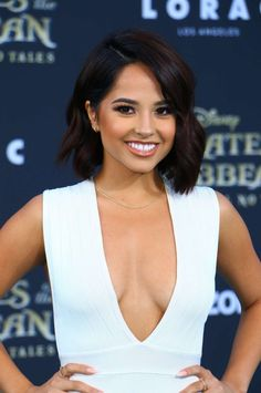 Becky G's close-up at 'Pirates Of The Caribbean : Dead Men Tell No Tales' Premiere in Hollywood