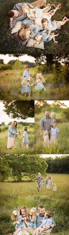 Knoxville and Gatlinburg family photographer | Alisha Bacon Photography A great mixture of posed and whimsical candid family pictures. Beautiful family poses! #familyphotography