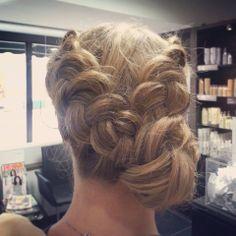 Double Braid, Updos, Bridal, Graduation Hair www.hairdesigners.ca Hair Styles 2014, Short Hair Styles, Graduation Hairstyles, Double Braid, I Feel Pretty, Something Beautiful, Hair Designs, Updos, That Look