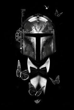 Fantasmagorik Boba Fett by Obery Nicolas