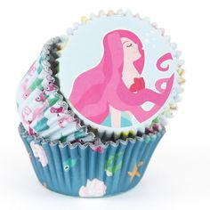 PME Cupcake Förmchen Mermaids, 60 Stück Happy Birthday Girlande, Party Banner, Cupcakes, Cupcake Toppers, Muffins, Mermaids, Water, Madness, Mermaid Party Decorations