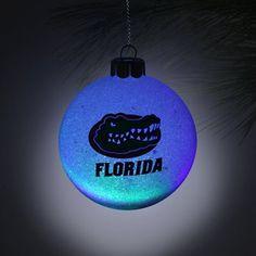 Florida Gators LED Logo Plastic Ball Ornament | Gator SportShop