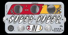 ZVEX Super Duper 2-In-1 Dual Boost