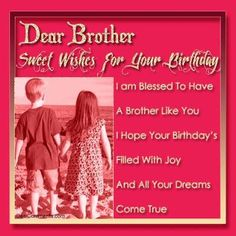 127 Best Happy Birthday Wishes For Brother Images Birthday Wishes