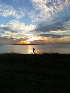 Sunset at Lake Arrowhead - Solitude