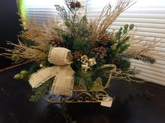 Christmas Sleigh by GeJaDesigns on Etsy