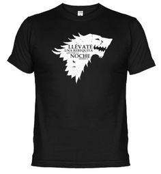 Camiseta Parodia lema Stark - Juego de Tronos 2
