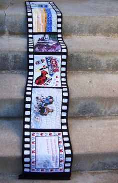 film roll memory quilt!!