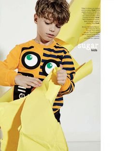 Oscar from Sugar Kids for Marie Claire Enfants by Achim Lippoth.