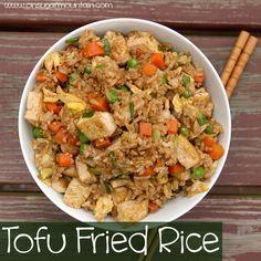 Tofu Fried Rice - On Sugar Mountain