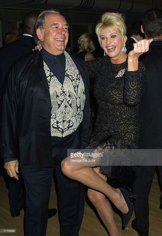 Television personality Robin Leach and Ivana Trump dance during the Annual Rita Hayworth Gala October 2001 benefiting the Alzheimer's Association at the Waldorf Astoria Hotel in New York City. Dance News, Ivana Trump, Alzheimer's Association, Astoria Hotel, Waldorf Astoria, Rita Hayworth, Beautiful Things, New York City, Robin