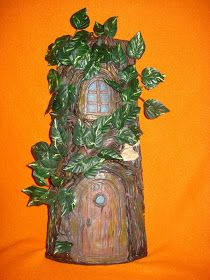 MANUALIDADES Y OTROS ENTRETENIMIENTOS: Teja decorada casa árbol Birds, Outdoor Decor, House, Painting, Home Decor, Art, Treehouse, Tejidos, Crafts