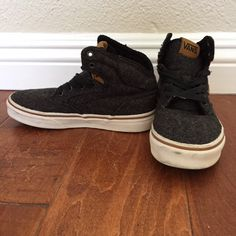 SOLD.  Check this item I am selling on Totspot, the resale shopping app for families.   Vans High-Tops Vans  Love this! #kidsfashion #familyfashion