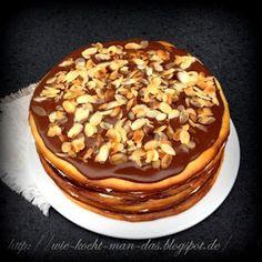 """Hier wird mit Liebe gekocht: Torte """"Milchmädchen"""" Condensed Milk, Apple Pie, Bakery, Food And Drink, Pudding, Breakfast, Desserts, Sweet, Yummy Yummy"""