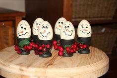 Cute little egg cup snowmen. Only $5.00 each
