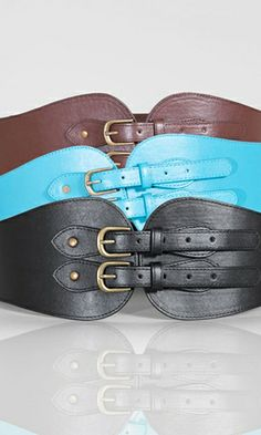 Wide Corset Belt $19.90 by SWAK Designs