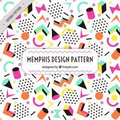 More than a million free vectors, PSD, photos and free icons. Fond Design, Design Plat, Web Design, Graphic Design, Memphis Design, Conception Memphis, Textures Patterns, Print Patterns, Memphis Pattern