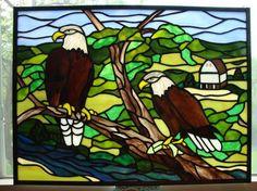 Decorah Eagles - Delphi Stained Glass
