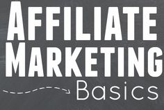 Take a look at this Affiliate Marketing Basics Beginners Guide. It covers everything you need to know to get started and tips that will help you to be successful.
