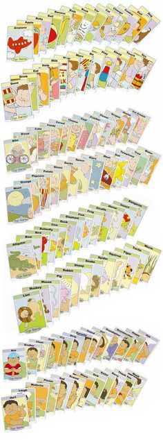 ASL flash cards from sign babies