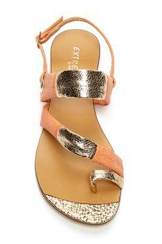 shiny sandal