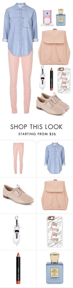 """""""Collage"""" by steviepumpkin ❤ liked on Polyvore featuring Balenciaga, Topshop, Clarks, New Look, Fendi, Casetify, Bobbi Brown Cosmetics, Bella Bellissima, girl and polyvoreeditorial"""