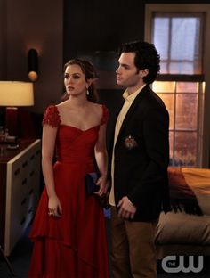 Red dress - Leighton Meester - Gossip Girl