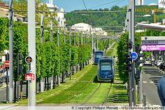 Tramway Ligne A, place de Stalingrad