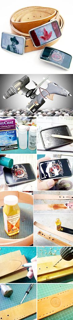 DIY custom belt buckles