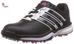 adidas Adipower Boost 2, Chaussures de Golf Femme, Noir-Schwarz (Core Black / White / Shock Pink), 40 2/3 EU - Chaussures adidas (*Partner-Link)