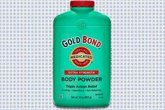 Skin: Gold Bond Extra Strength Medicated Body Powder http://www.menshealth.com/grooming/2016-grooming-awards/slide/9