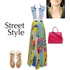 """Maxi Dress Chic"" by ndewalt on Polyvore"