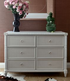 Bungalo 5 white dresser clearance