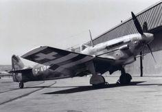 Swiss Air Force, D-3802A «Morane-Saulnier» MS-540, 1947 - 1956, 11x