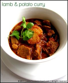 lamb & potato curry - going to try this with the lamb leftover from our easter meal.